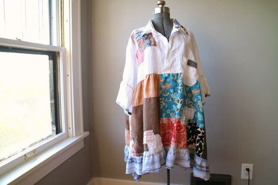 CUSTOM ORDER DANA Artsy Frock Plus Size Clothing One Of A