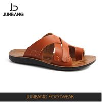 New Arrival Superior quality fashion genuine leather men's sandal directly  sale https://app