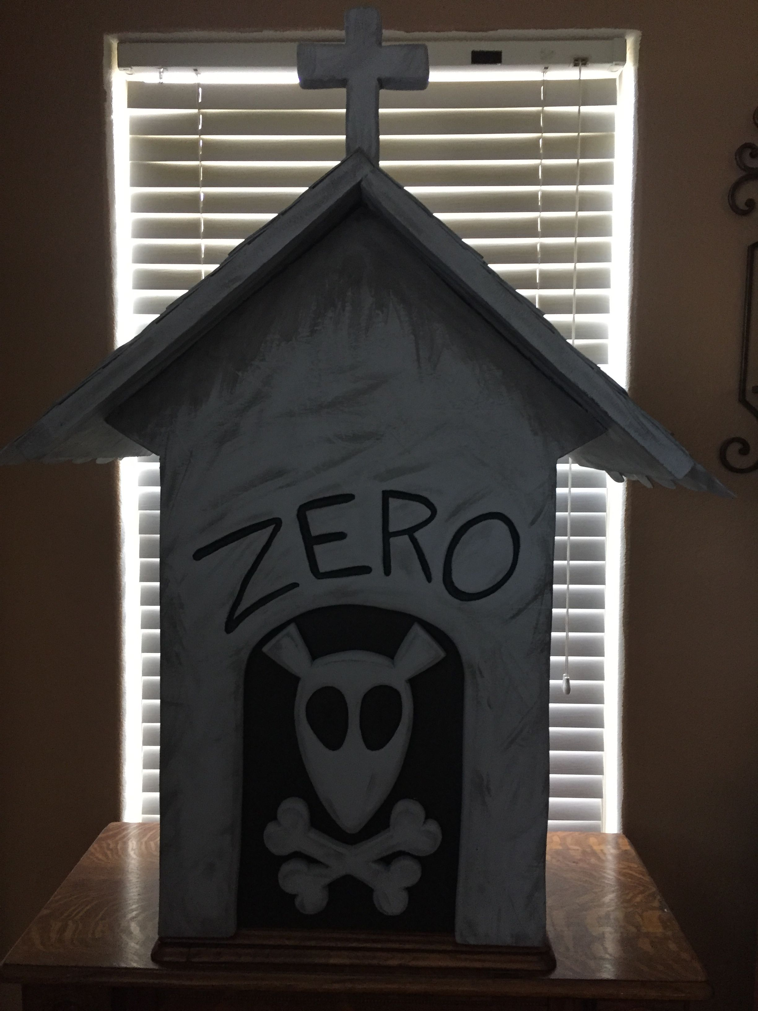 my diy zeros dog house from nightmare before christmas made from pink insulation foam - When Was The Nightmare Before Christmas Made