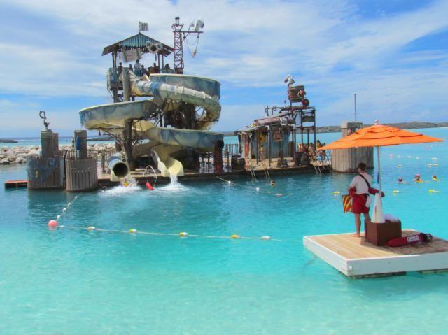 Take a Photo Tour of Disney's Private Island: Take the Pelican Plunge