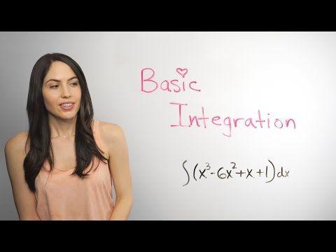 Lots Of Basic Antiderivative Integration Integral Examples