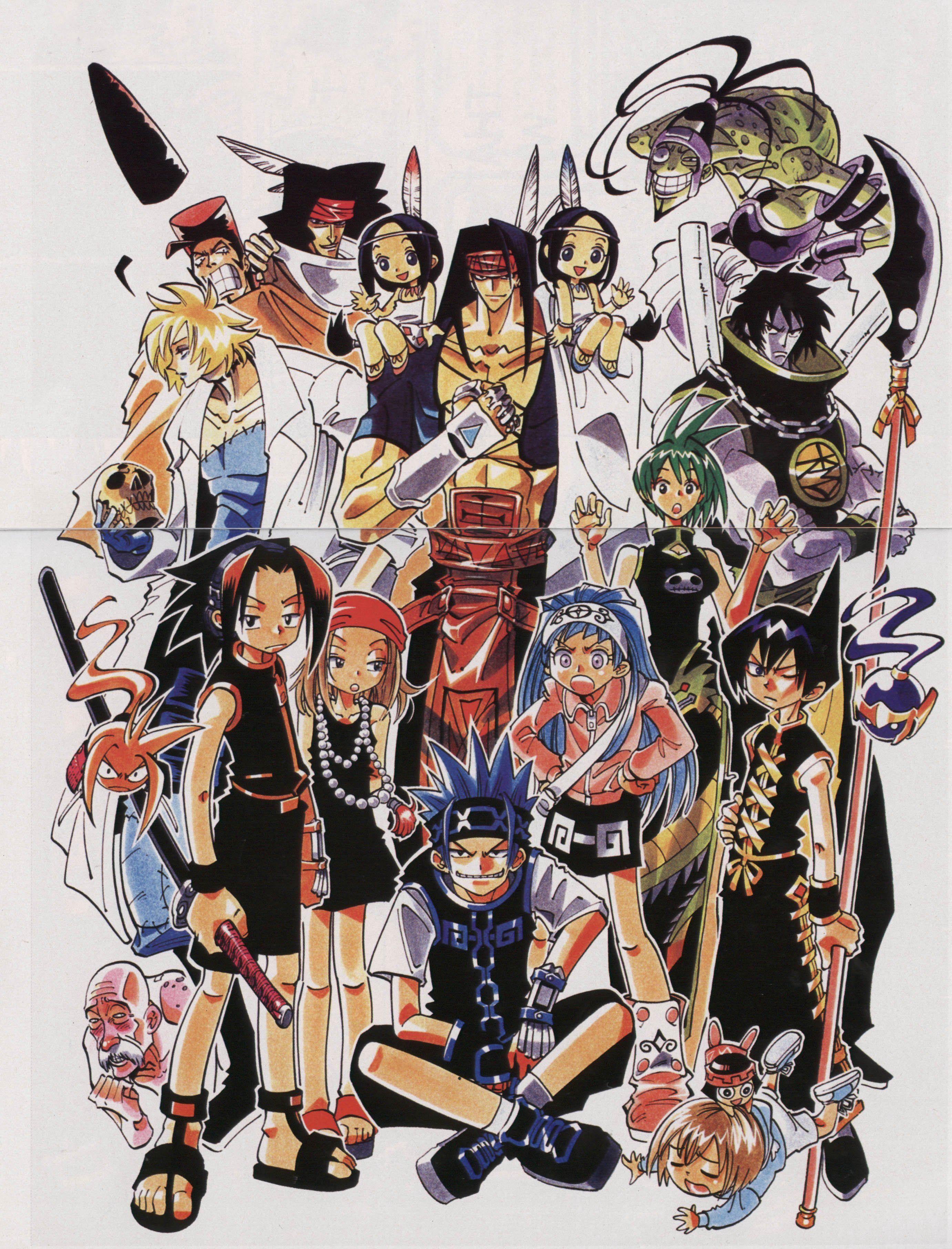 Shamanking 34 Shaman King Anime Shaman