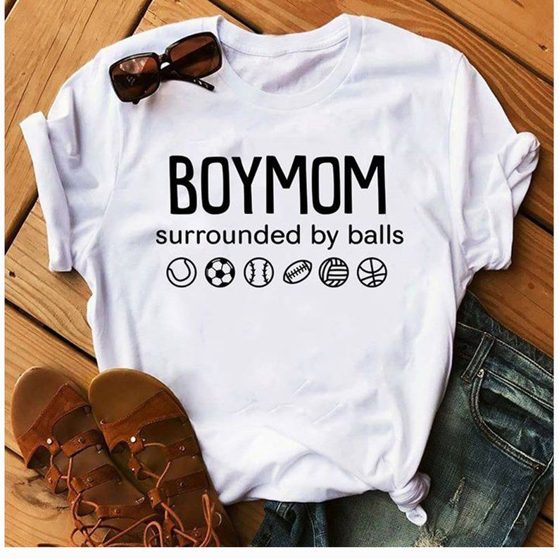 Download Boy Mom svg surrounded by ball svg football svg quote svg ...