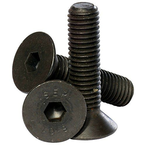 Cheap Bolt Base (6mm) M6 x 16 Black 10 9 Grade High Tensile