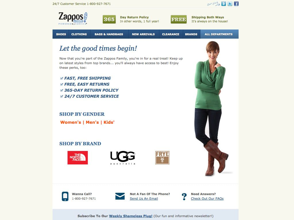 Software To Create Invoices Zappos Welcome Email  Best Transactional Emails  Pinterest Jb Hi Fi Receipt Number Word with Example Of Invoice Letter Excel Zappos Welcome Email Sample Invoice Xls Word