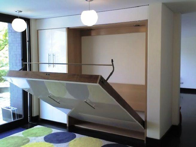 Camas para ahorrar espacio en el dormitorio organizaci n - Camas ocultas en muebles ...