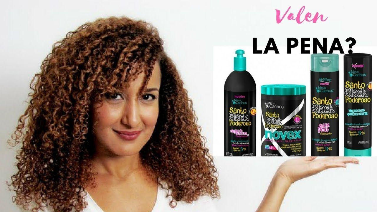 Productos Novex Para Cabello Rizado Santo Black Poderoso Valen La