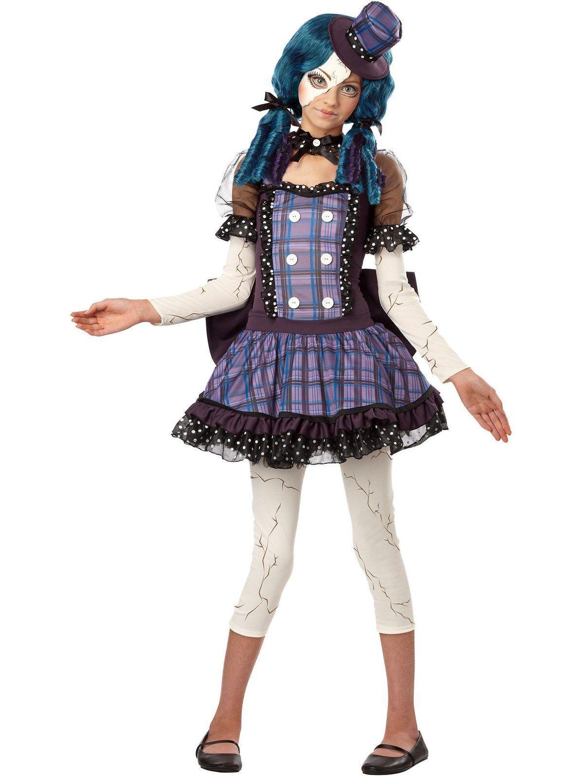 View Larger Image Broken doll costume, Tween costumes