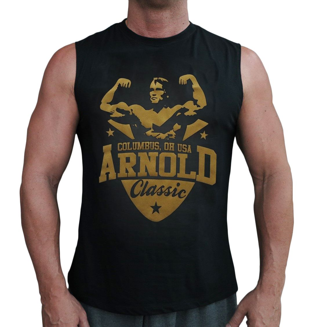 21091f42af0f3 Muscleman Gear Arnold Classic Men s Stringer Tank Tops. Available On Amazon  Price   15.95