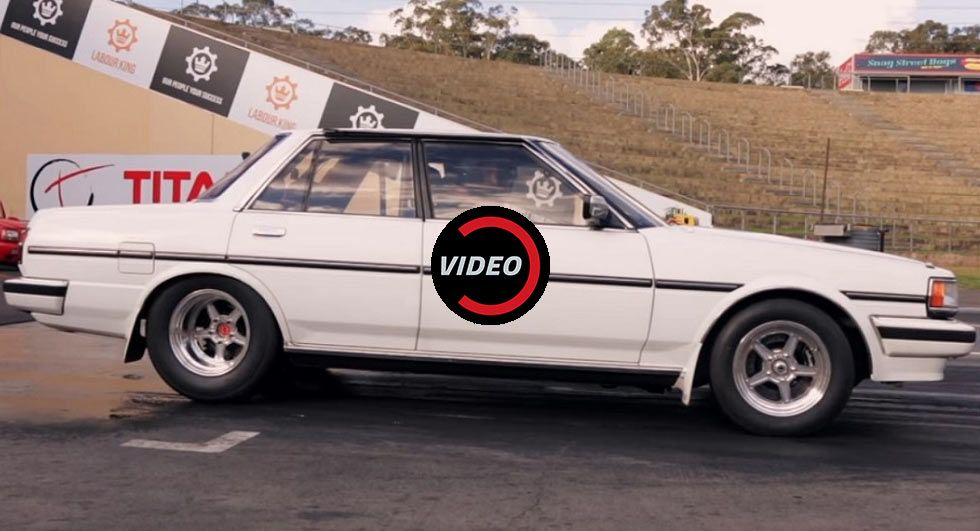600 HP Toyota Cresta Does The Quarter Mile In Less Than 10 Seconds