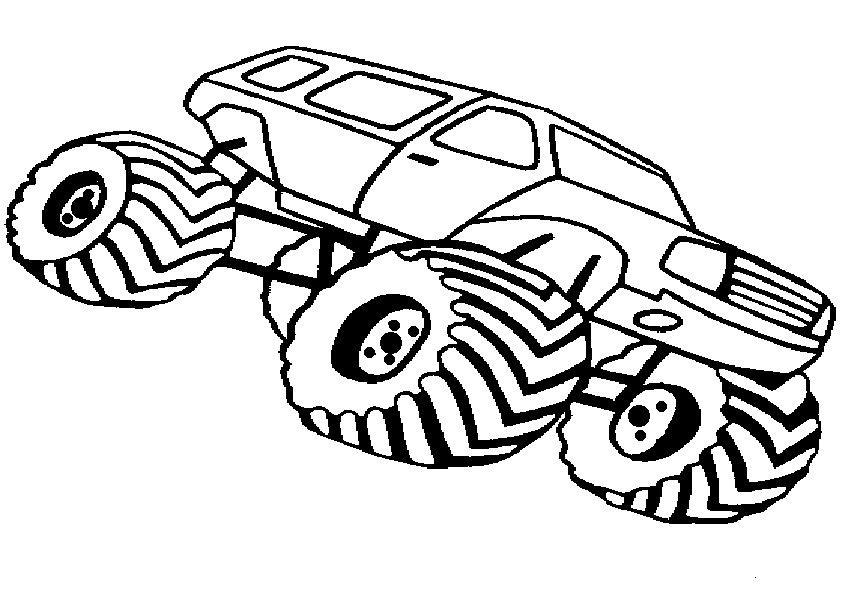 ausmalbilder kostenlos monster truck -14 | Bilder | Pinterest ...