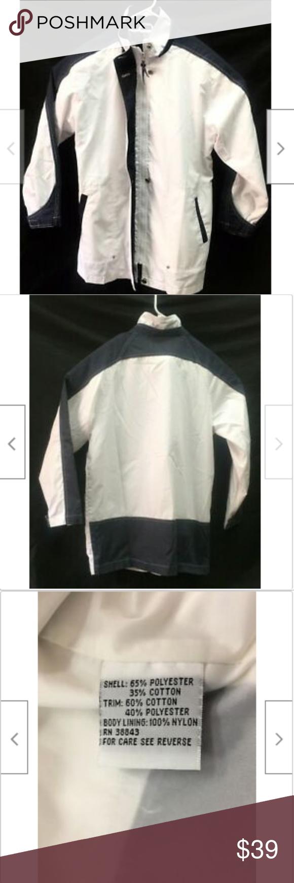 Izzi Outerwear Womens White Blue Jacket Coat Blue Jacket Jackets Outerwear [ 1740 x 580 Pixel ]