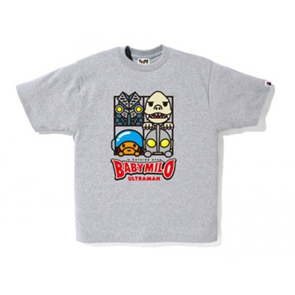 b11a3844e2ed NEW! Bape Baby Milo Ultraman Series T-shirt