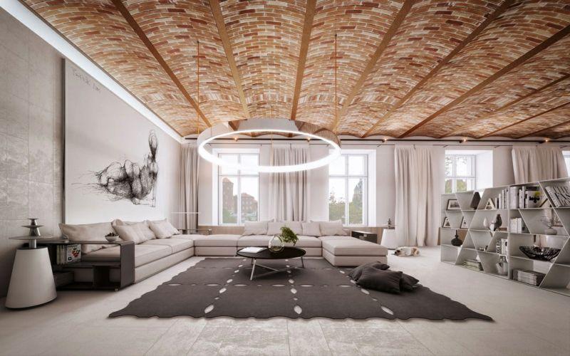 Fantastisch Moderne Deckengestaltung U2013 83 Schlaf  U0026 Wohnzimmer Ideen #deckengestaltung # Ideen #moderne #