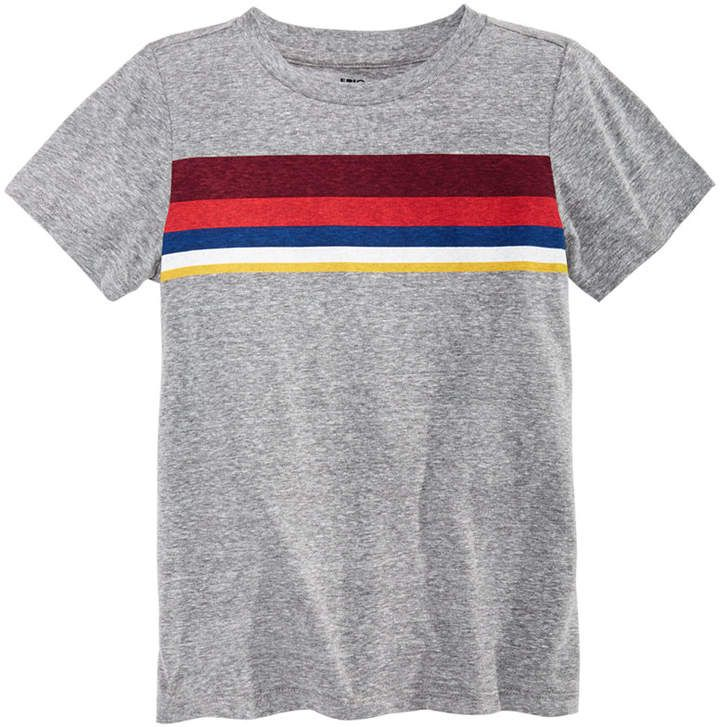 f6326b236 Little Boys Chest Stripe T-Shirt, Created for Macy's #chest #brighten#Colorful