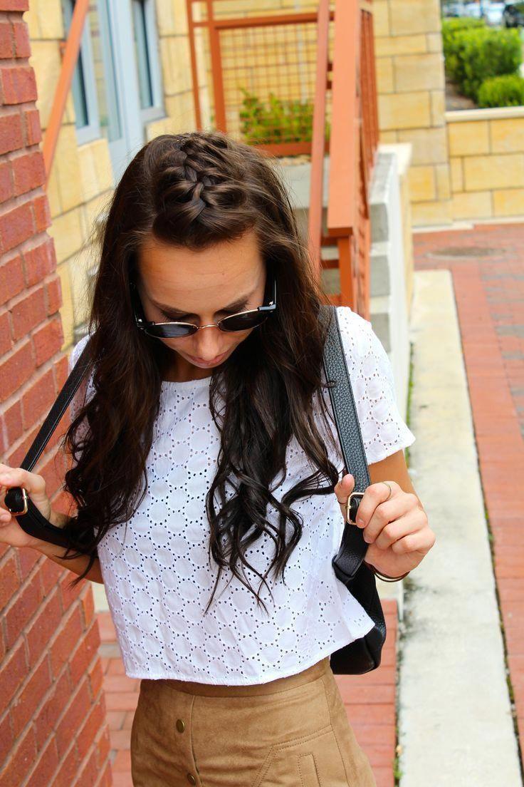einfache frisuren buchen mädchen #easyhairstyles