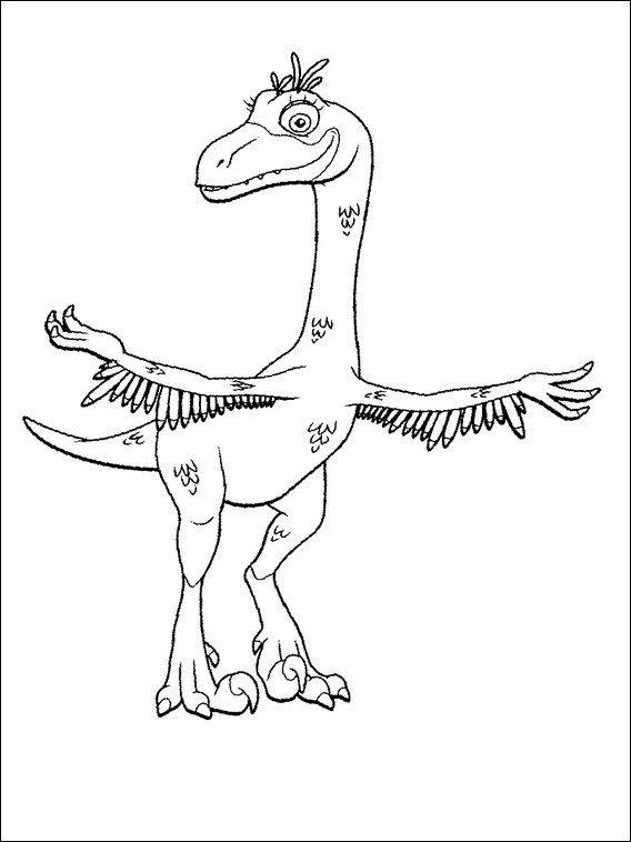 Dinosaurier Zug 11 Ausmalbilder für Kinder Malvorlagen