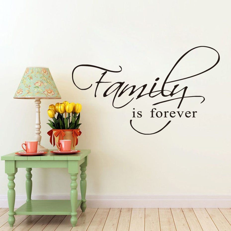 home decor removable wallpaper for living room family is on wall stickers for living room id=99449
