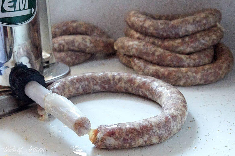 How To Make Kielbasa Traditional Polish Sausage Homemade Sausage Recipes Sausage Making Recipes Polish Sausage Recipes