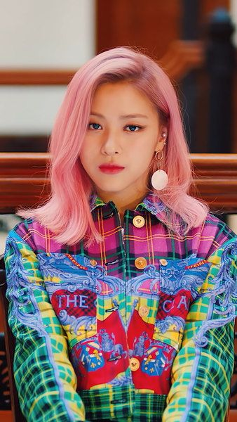 Itzy Icy Ryujin Pink Hair 4k 3840x2160 1920x1080 2160x3840 1080x1920 Wallpaper Itzy Pink Hair Kpop Girls
