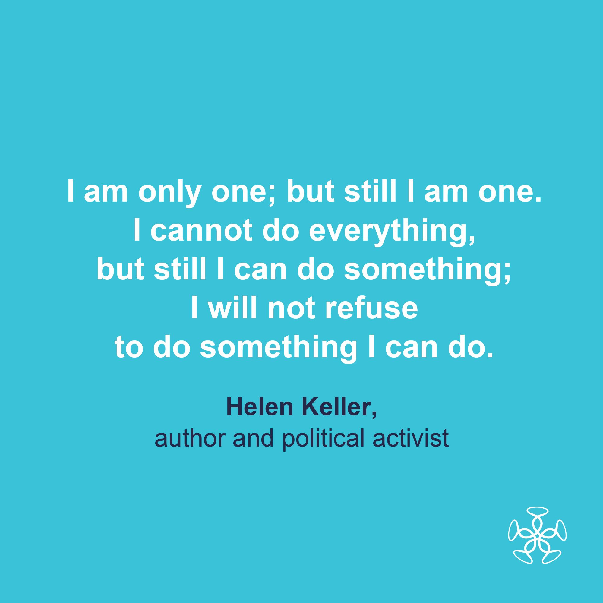 Helen Keller Author And Political Activist