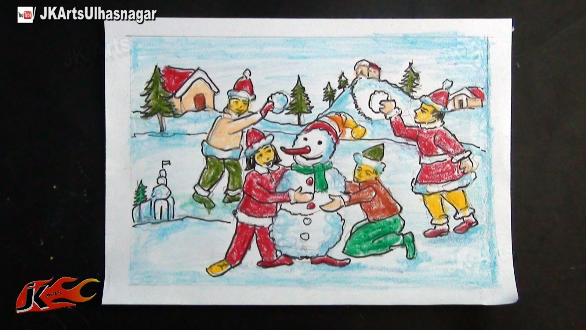 DIY Christmas Memory Drawing | Christmas Crafts | Pinterest | DIY ...