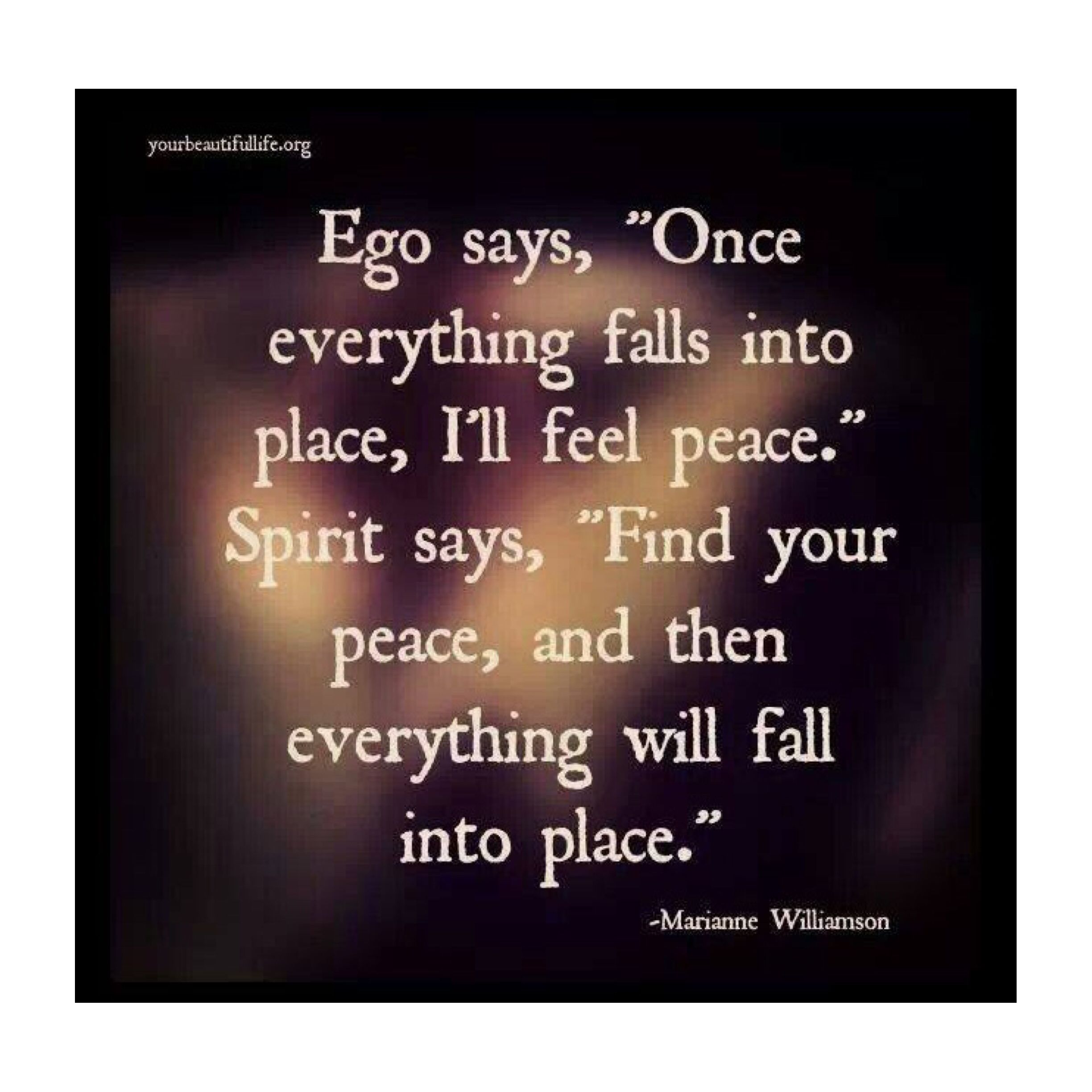 Marianne Williamson Love Quotes Spirit Over Ego Made An Impression Pinterest  Thoughts