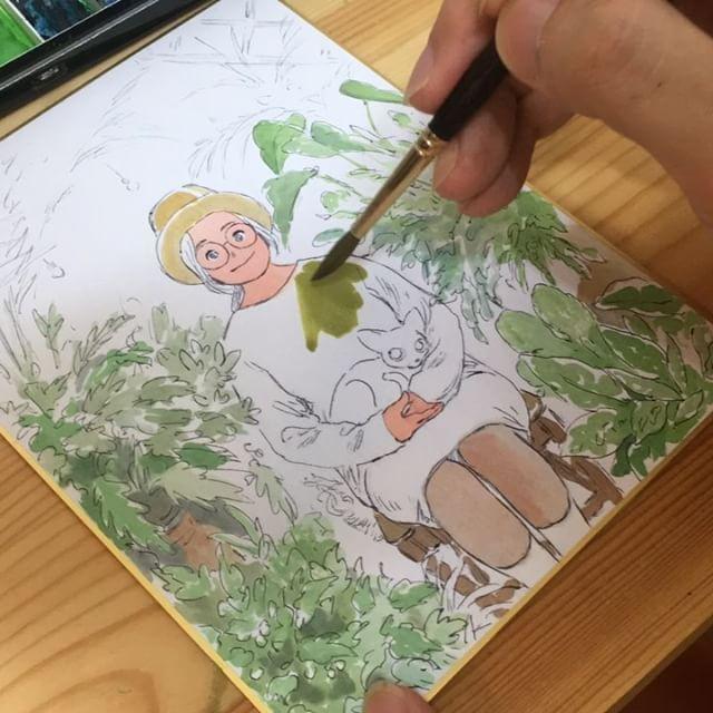 전에 그리면서 한번 찍어봤어요😚#그림#낙서#드로잉#일러스트#doodle#drawing#illust#illustration#画#イラスト