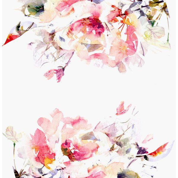 Spring Floral Large Wall Mural Watercolor Mural Wallpaper 125