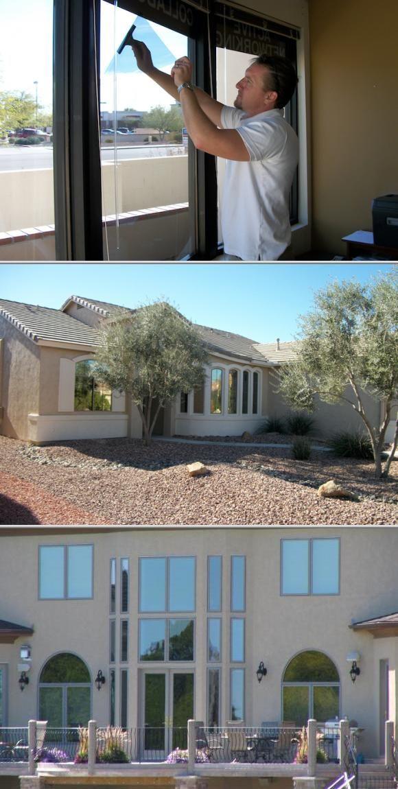 Home Office Window Tinting Tinted House Windows Tinted Windows Home Window Repair