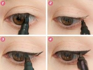 How To Apply Eyeliner For Beginners Step By Instructions
