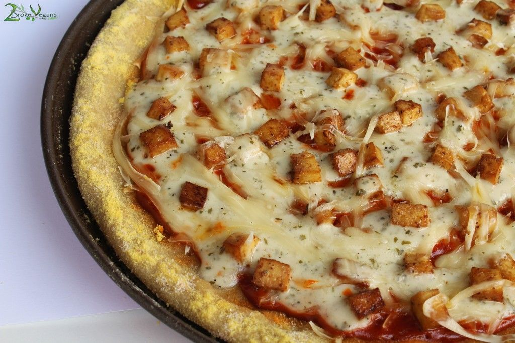 Gluten Free Vegan Buffalo Tofu Pizza Recipe: http://wp.me/p42b71-wN