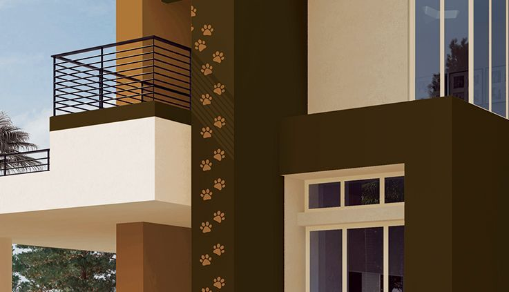 Get Range Of Wall Stencils For Exterior Home Designs Asian Paints Asian Paints Exterior Wall Art House Designs Exterior