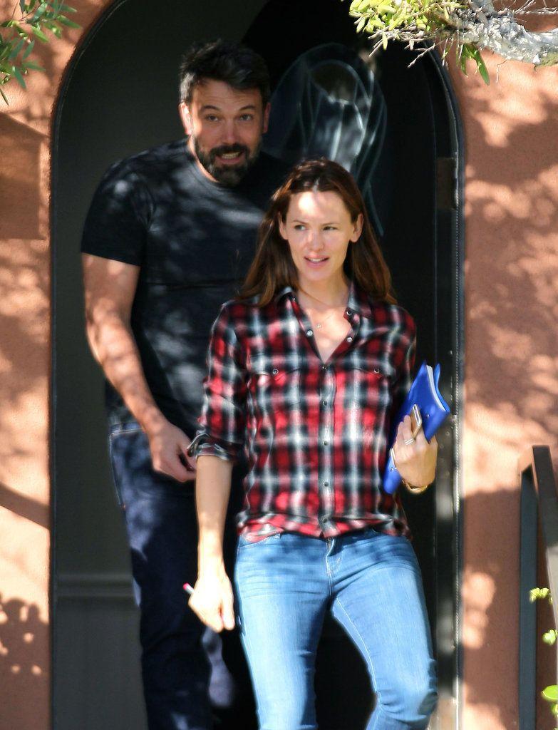 Ben Affleck and Jennifer Garner Together in LA Pictures | POPSUGAR Celebrity