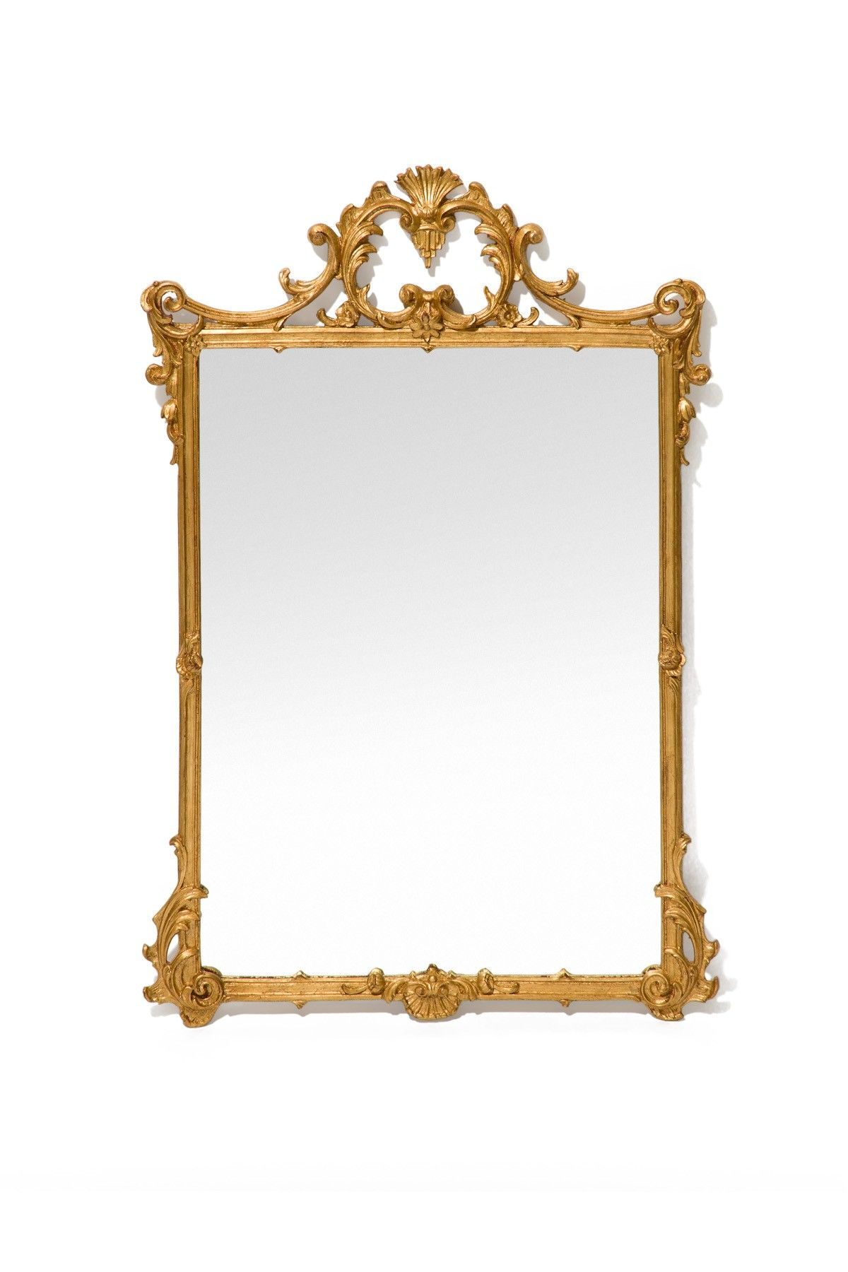 The Well Appointed House Luxury Home Decor Elegant Wall Mirror In Gold 572 Barbara Cosgrove Miroir Encadrement Bois Decoration Trumeau