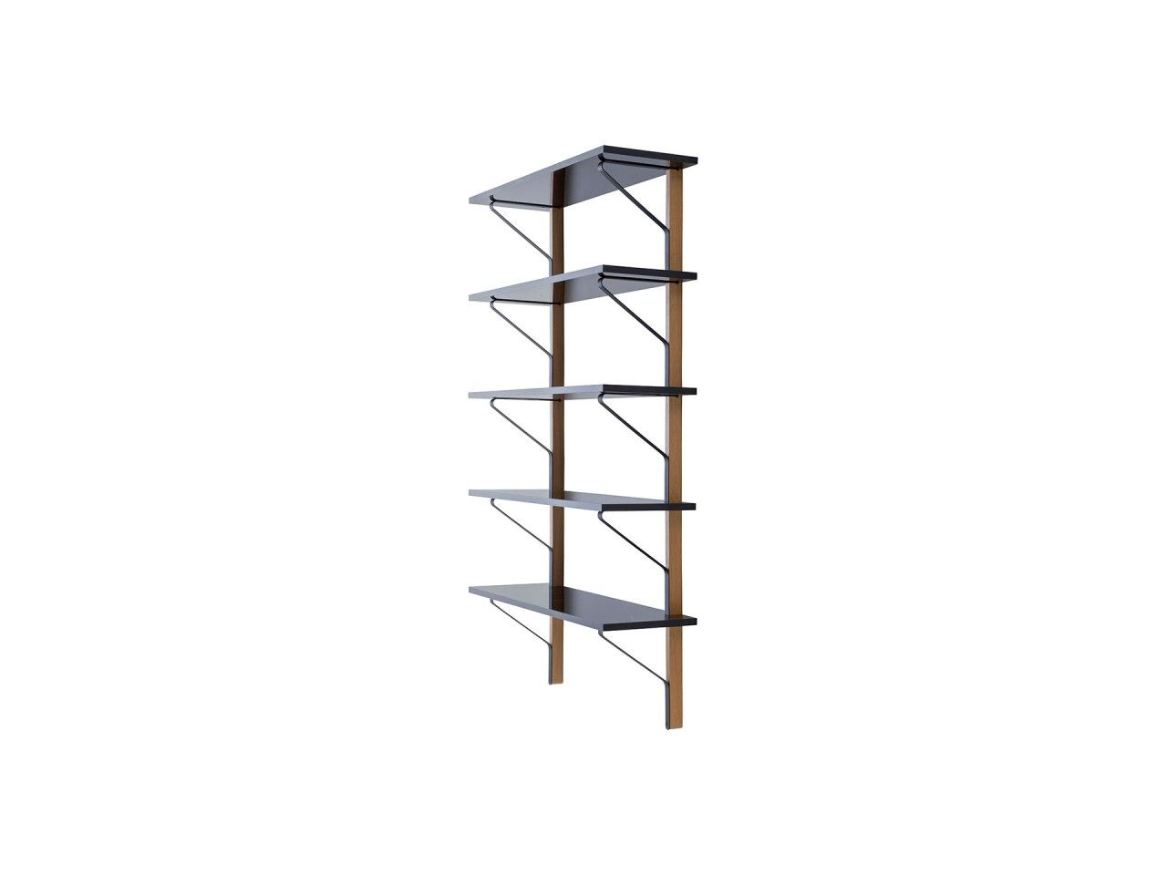 Use Natural Wood Glass Shelves