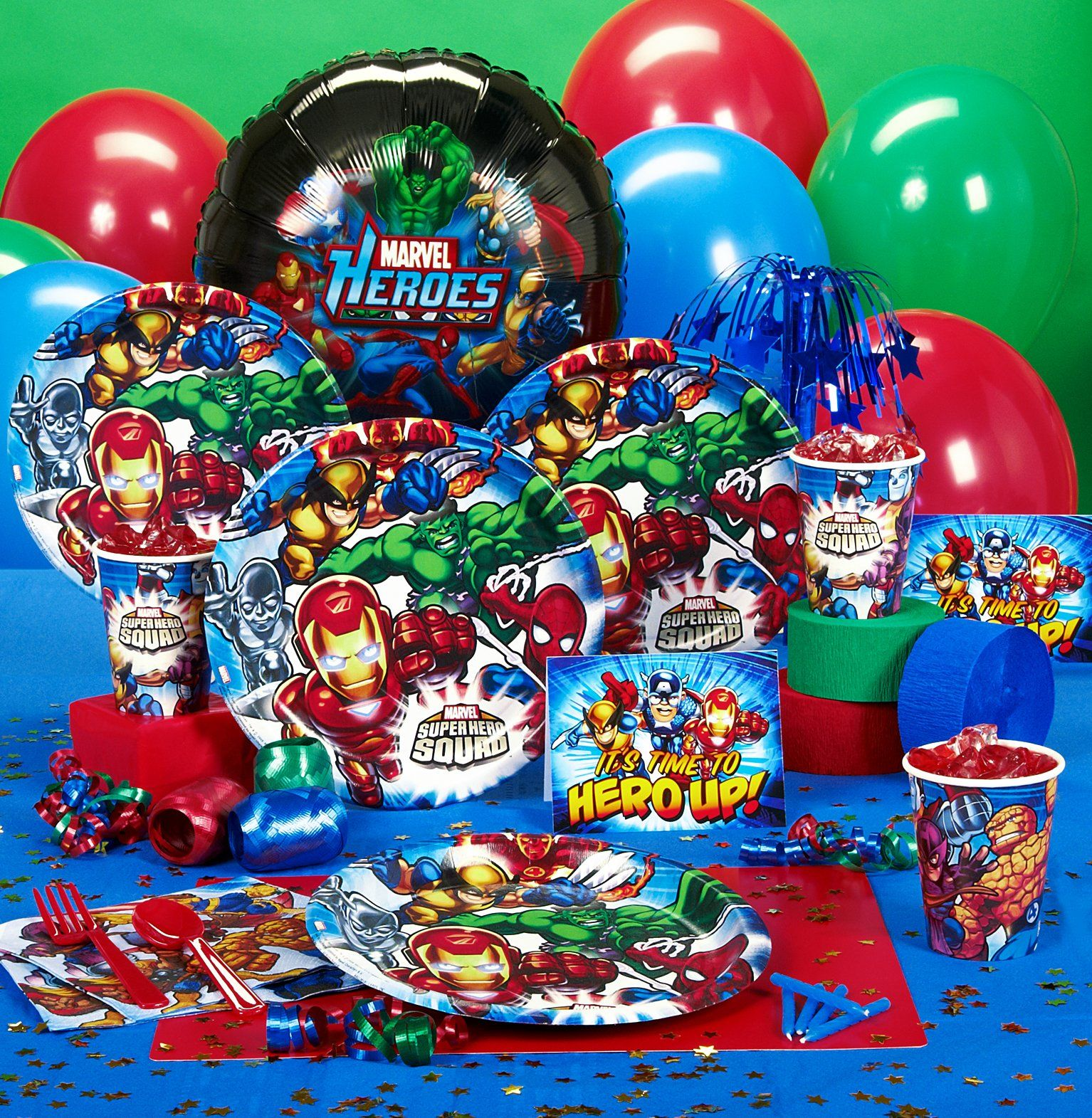 Avengers Assemble Party Supplies - Birthdayexpresscom