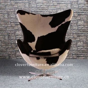 Arne Jacobsen Egg Chair Cowhide, View Egg Chair Cowhide, CLOVER Product  Details From Shenzhen