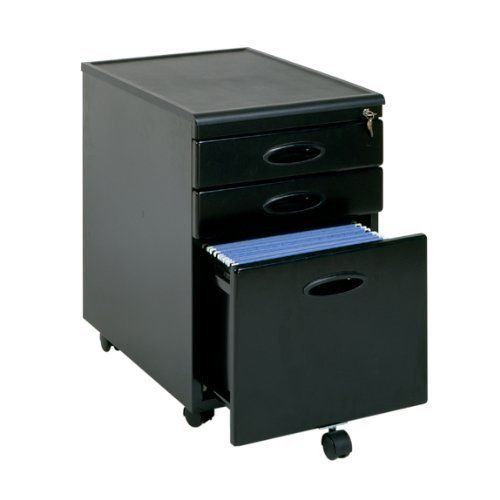 Mobile File Cabinet Black Finish By Tdm 149 98 Features All Metal Construction With Plastic Molded Top Locking Filing Cabinet Mobile File Cabinet Cabinet
