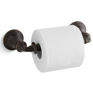 Kohler K 10554 2bz Oil Rubbed Bronze 2bz Devonshire Double Post Spring Loaded Tissue Holder Bronze Toilet Paper Holder Toilet Paper Holder Kohler