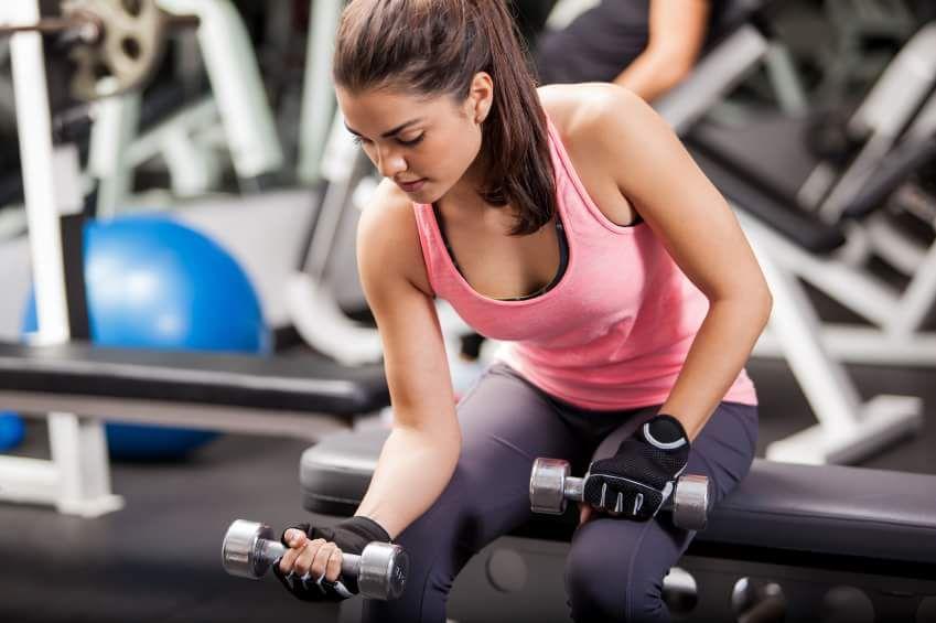 exercitii pentru slabire brate