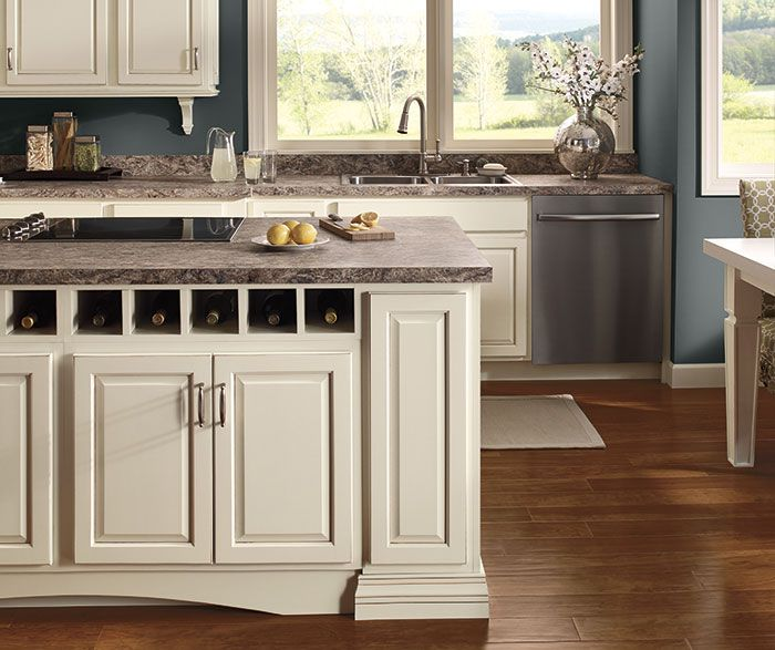 White Kitchen Cabinets Lowes: Farrell Maple Toasted Almond On Coconut Diamond Cabinets
