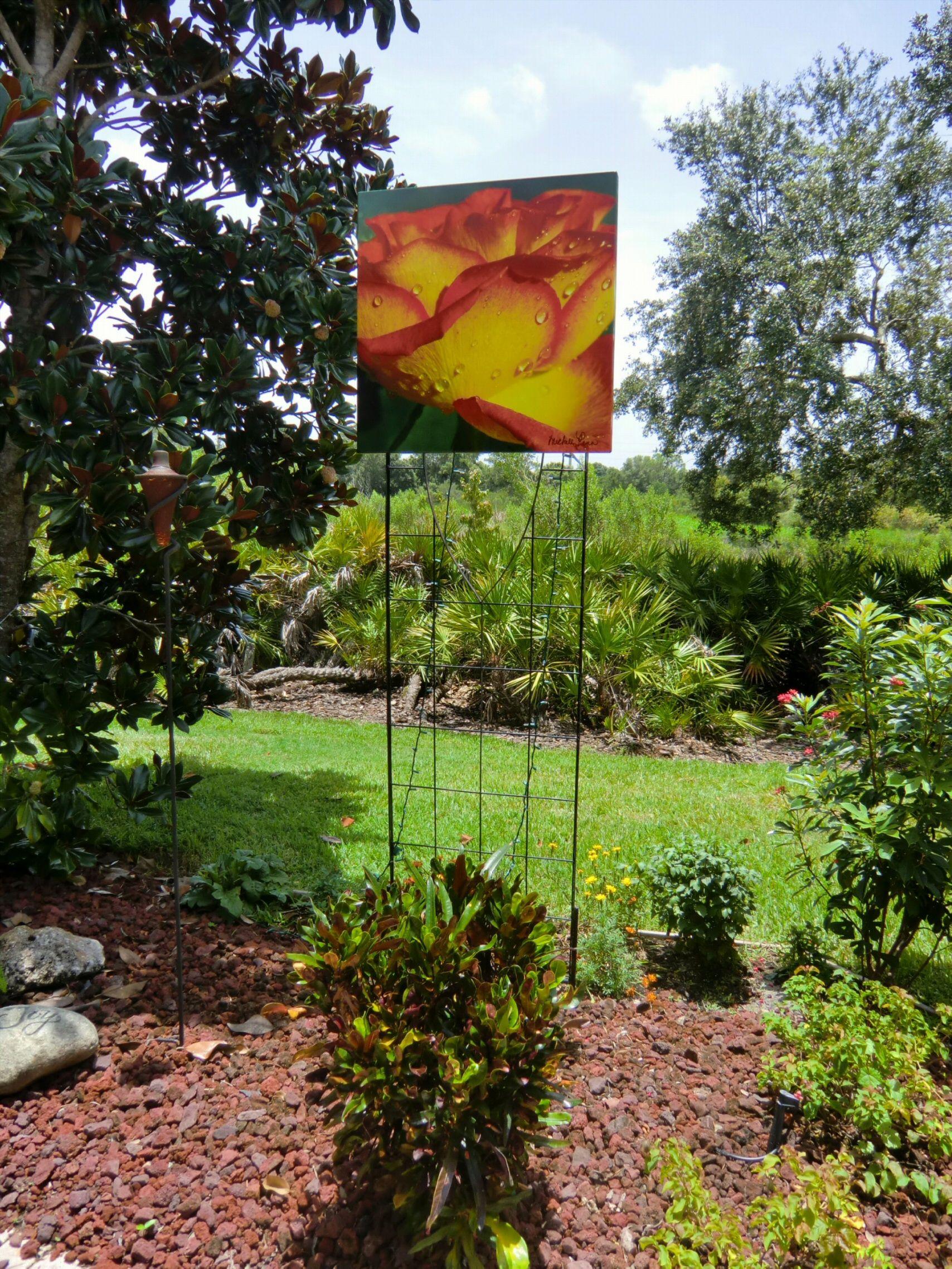 Outdoor Garden Wall Art | Attractive Floral Wall Decor, Outdoor ...
