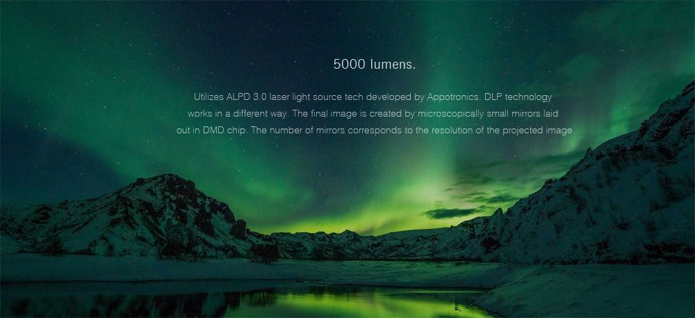Xiaomi Mijia Laser Projector - Ultra Short Throw | Greatness