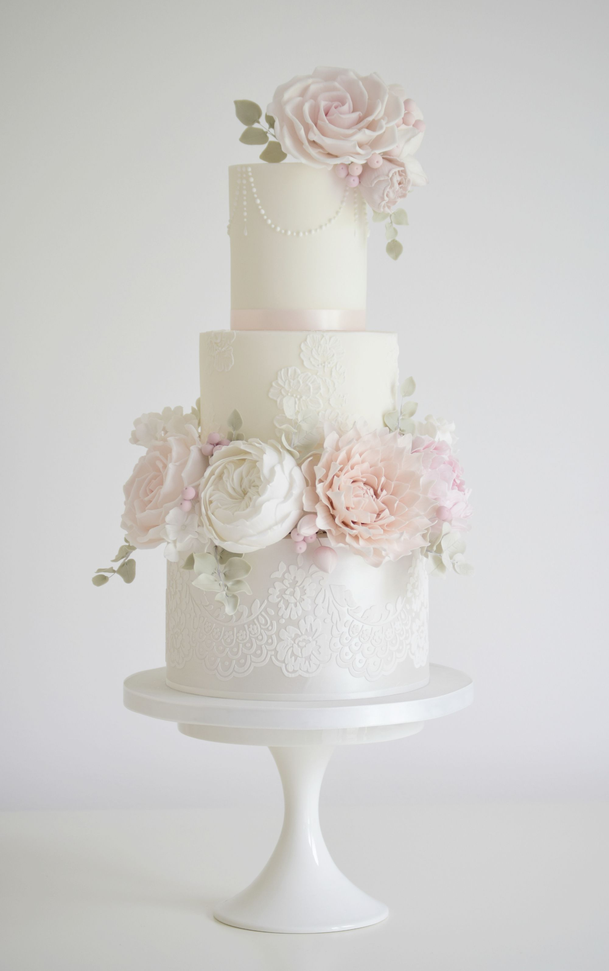 Wedding decorations garden december 2018 Country Garden   Lauren wedding cakes  Pinterest  Wedding