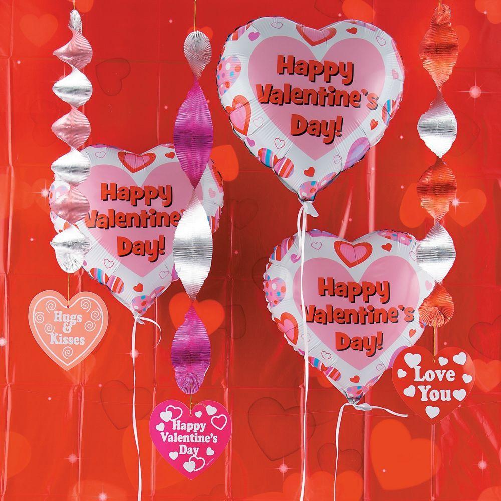 Valentine S Day Decorating Kit In 2021 Valentines Day Party Valentine Backdrop Valentine