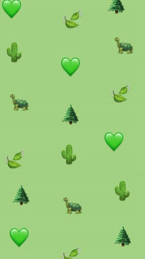 58 Ideas For Lock Screen Wallpaper Aesthetic Green Emoji Wallpaper Iphone Emoji Wallpaper Cute Emoji Wallpaper