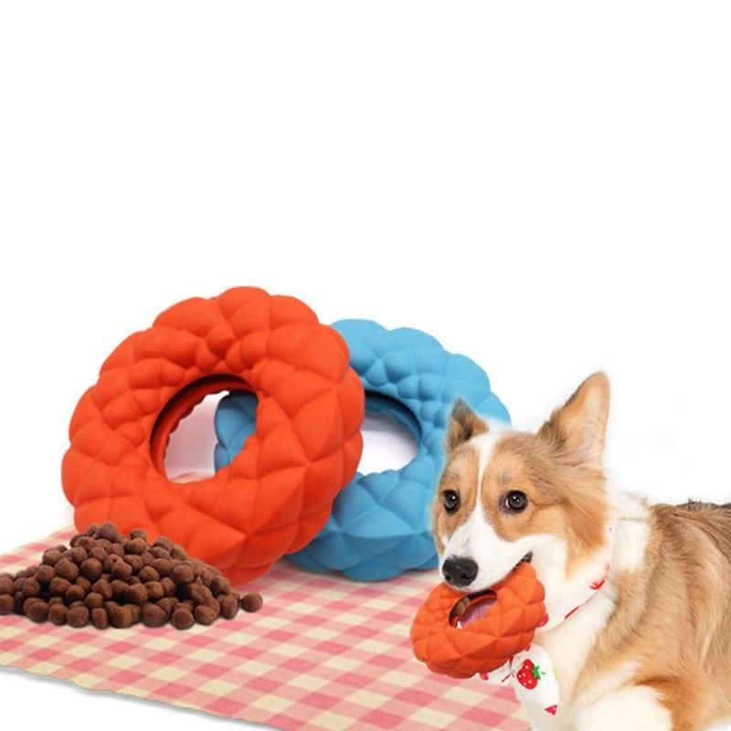 Pet Toy Indestructible Aggressive Chew Toy Rubber Sound For Large