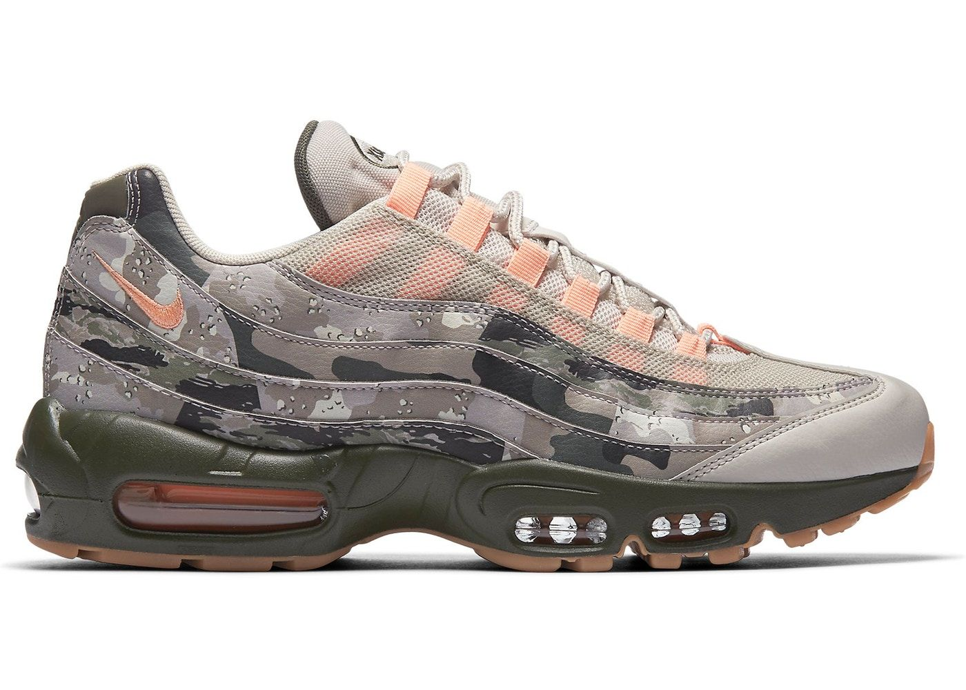 Nike Air Max 95 Camo Sunset in 2020
