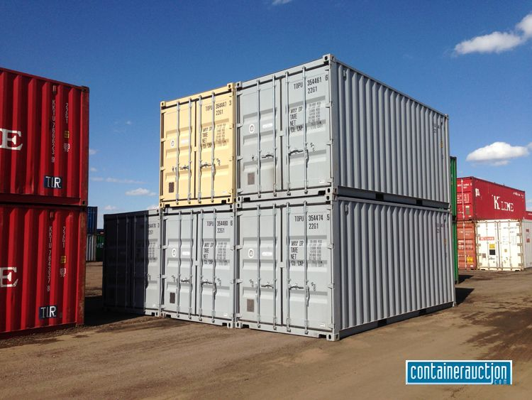 20 Shipping Containers At The Tsl Terminal In Denver Colorado Shipping Containers For Sale Containers For Sale Shipping Container